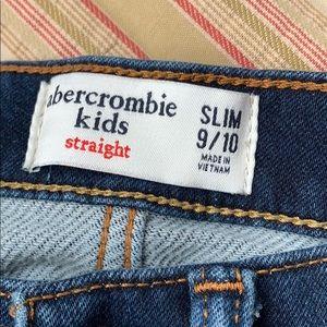 abercrombie kids Bottoms - Abercrombie Kids Straight Slim 9/10 nwot